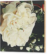 Wedding Belle Wood Print