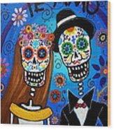 Wedding Couple  Wood Print