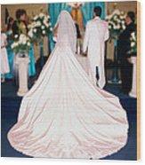 Wedding Dolores Wood Print