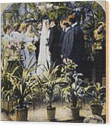 Wedding Party, 1897 Wood Print