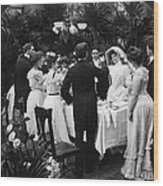 Wedding Party, 1904 Wood Print