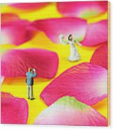Wedding Photography Little People Big Worlds Wood Print