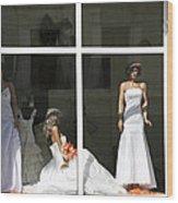 Wedding Shop In Tbilisi Wood Print