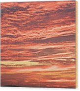 Wedding Sunset Wood Print