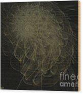 Weeds N Thorns Wood Print