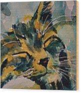 Weeeeeee Sleepee Wood Print by Paul Lovering
