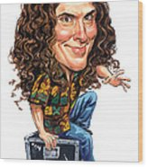 Weird Al Yankovic Wood Print