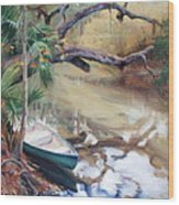 Wekiva Autumn Wood Print