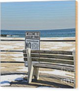Welcome To Asbury Park Wood Print