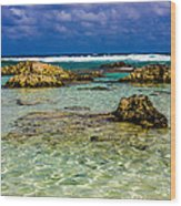 Welcome To Cozumel Wood Print