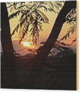 Welcome To Jamaica 7 Rise   Wood Print
