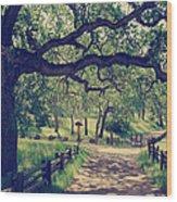 Welcoming Wood Print