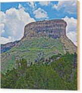 Welcoming Mesa To Mesa Verde National Park-colorado- Wood Print