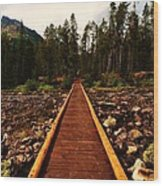 Welcoming Trail Wood Print
