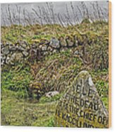 Well Of The Dead Wood Print