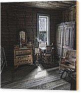 Wells Hotel Bridal Suite - Garnet Ghost Town - Montana Wood Print