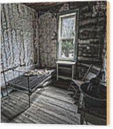 Wells Hotel Room 2 - Garnet Ghost Town - Montana Wood Print