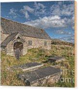 Welsh Church Wood Print