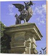 Welsh Dragon Wood Print