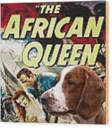 Welsh Springer Spaniel Art Canvas Print - The African Queen Movie Poster Wood Print