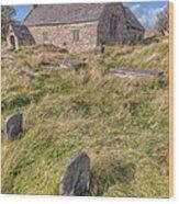 Welsh Tombs Wood Print