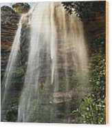Wentworth Waterfall Blue Mountains Wood Print