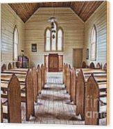 Wesleyan Methodist Church Wood Print