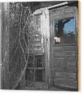West Barnstable Door Wood Print