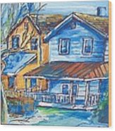 West Cape May Nj Wood Print