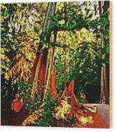 West Coast Rainforest Wood Print