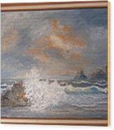 West Coast Seascape Wood Print