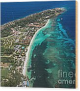 West End Roatan Honduras Wood Print