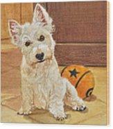 West Highland Terrier Puppy Wood Print