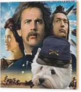 West Highland White Terrier Art Canvas Print - Dances With Wolves Movie Poster Wood Print