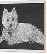 West Highland White Terrier Wood Print