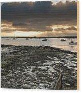 West Mersea View Wood Print