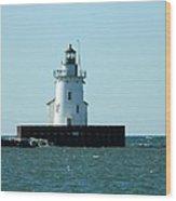 West Pierhead Lighthouse Wood Print