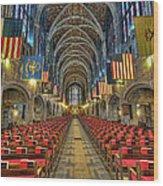 West Point Cadet Chapel Wood Print by Dan McManus