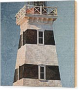 West Point Lighthouse 7 Wood Print