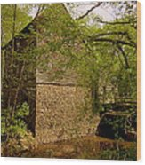 West Point Mill House II Wood Print
