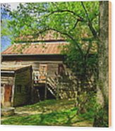 West Point Mill House Wood Print