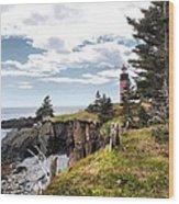 West Quoddy 4037 Wood Print