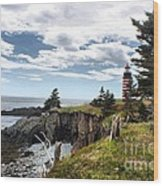 West Quoddy 4038 Wood Print