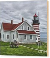 West Quoddy 4216 Wood Print