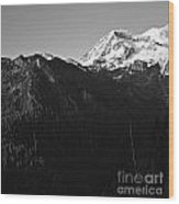 West Slope Mt. Rainier Wood Print