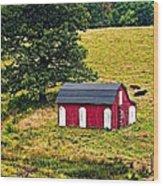 West Virginia 2 Wood Print