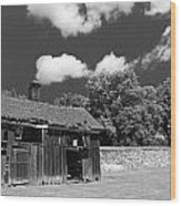 West Virginia Barn Wood Print