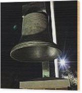 West Virginia Bell Wood Print