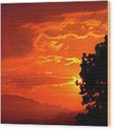 West Virginia Late Spring Sunrise Wood Print