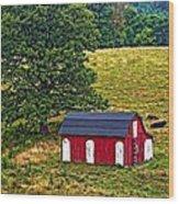 West Virginia Oil Wood Print